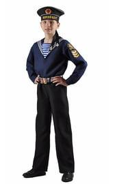 Детский костюм моряка с бескозыркой