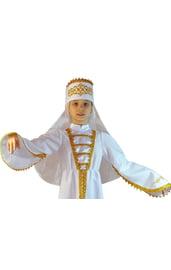 Головной убор кавказской девочки