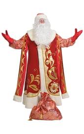Взрослый костюм Деда Мороза Хохлома