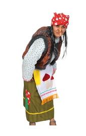 Взрослый костюм Дремучей Бабы-Яги