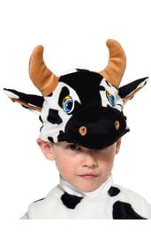 Шапочка-маска Бычок