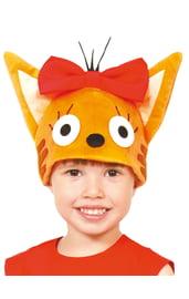 Детская шапка Кошечка Карамелька