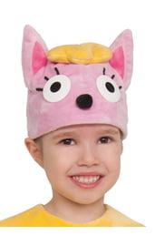 Детская шапка Кошечка Лапочка