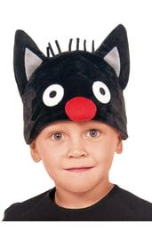 Детская шапка Кот Сажик