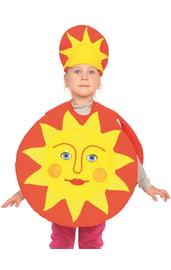 Детский костюм Солнышка красного