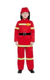 Детский костюм Пожарного в красном