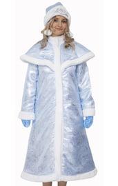 Взрослый костюм Царской Снегурочки в голубом
