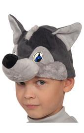 Детская шапочка-маска Волчонок