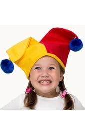 Детская шапка Арлекино