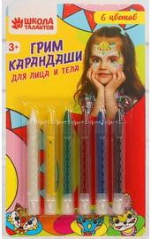 Грим-карандаши 6 цветов