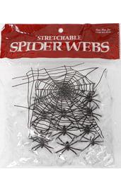 Паутина с 12 пауками 60 грамм