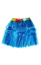 Гавайская синяя юбка