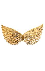 Детские золотистые крылья ангелочка