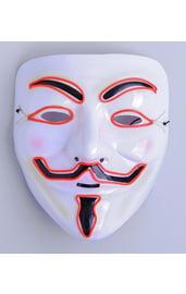 Световая маска Гая Фокса