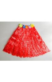 Гавайская красная юбка