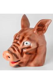 Латексная маска свиньи