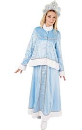 Взрослый костюм Снегурочки Настеньки