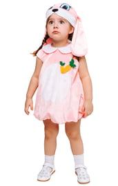 Детский костюм Зайки в розовом