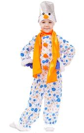 Детский костюм Снеговика Снежка