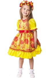 Детский костюм Осени Хохлома