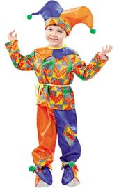 Детский костюм забавного Петрушки