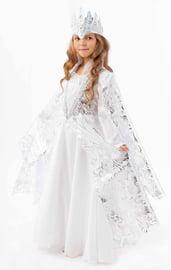Детский костюм холодной Снежной королевы