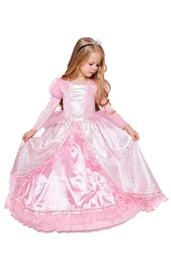 Детский костюм Принцессы Золушки в розовом