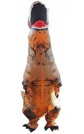 Взрослый надувной костюм Ти-Рекса