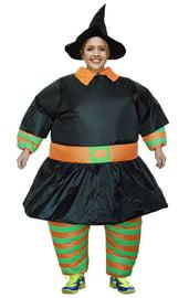 Взрослый надувной костюм Ведьмы