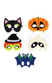 Набор масок на Хэллоуин