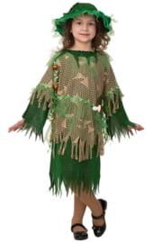 Детский костюм зеленой Кикиморы