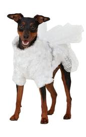 Костюм Снегурочки для собак