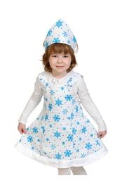 Детский костюм плюшевой Снежинки
