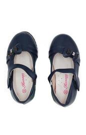 Детские синие туфельки