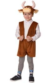 Детский костюм коричневого Бычка