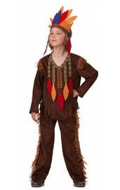 Детский костюм Удалого индейца