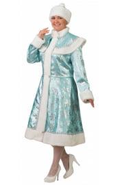 Взрослый костюм бирюзовой Снегурочки