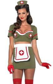 Костюм Армейской медсестры ретро