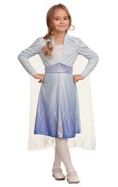 Детский костюм Королевы Эльзы с париком