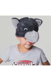 Детская шапка-маска Волка