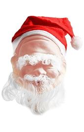 Латексная маска Деда Мороза