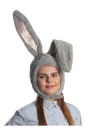 Серая шляпа Зайчик