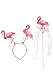 Карнавальный набор Фламинго