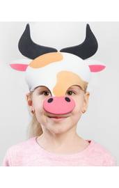 Детская маска Бычок