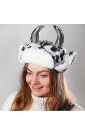 Карнавальная шапка Коровка