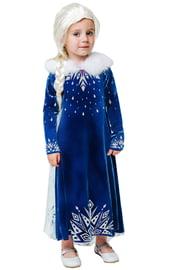Детский зимний костюм Эльзы