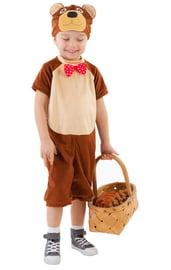 Детский костюм коричневого Медведя