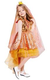 Детский костюм блестящей Золотой Рыбки
