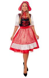 Взрослый костюм бесстрашной Красной Шапочки