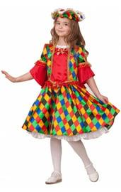 Детский костюм Коломбины